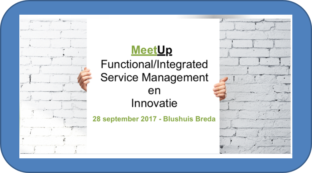 MeetUp Functional/Integrated Service Management