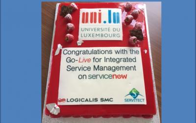 Succesvolle Go-Live van ISM bij University of Luxembourg!