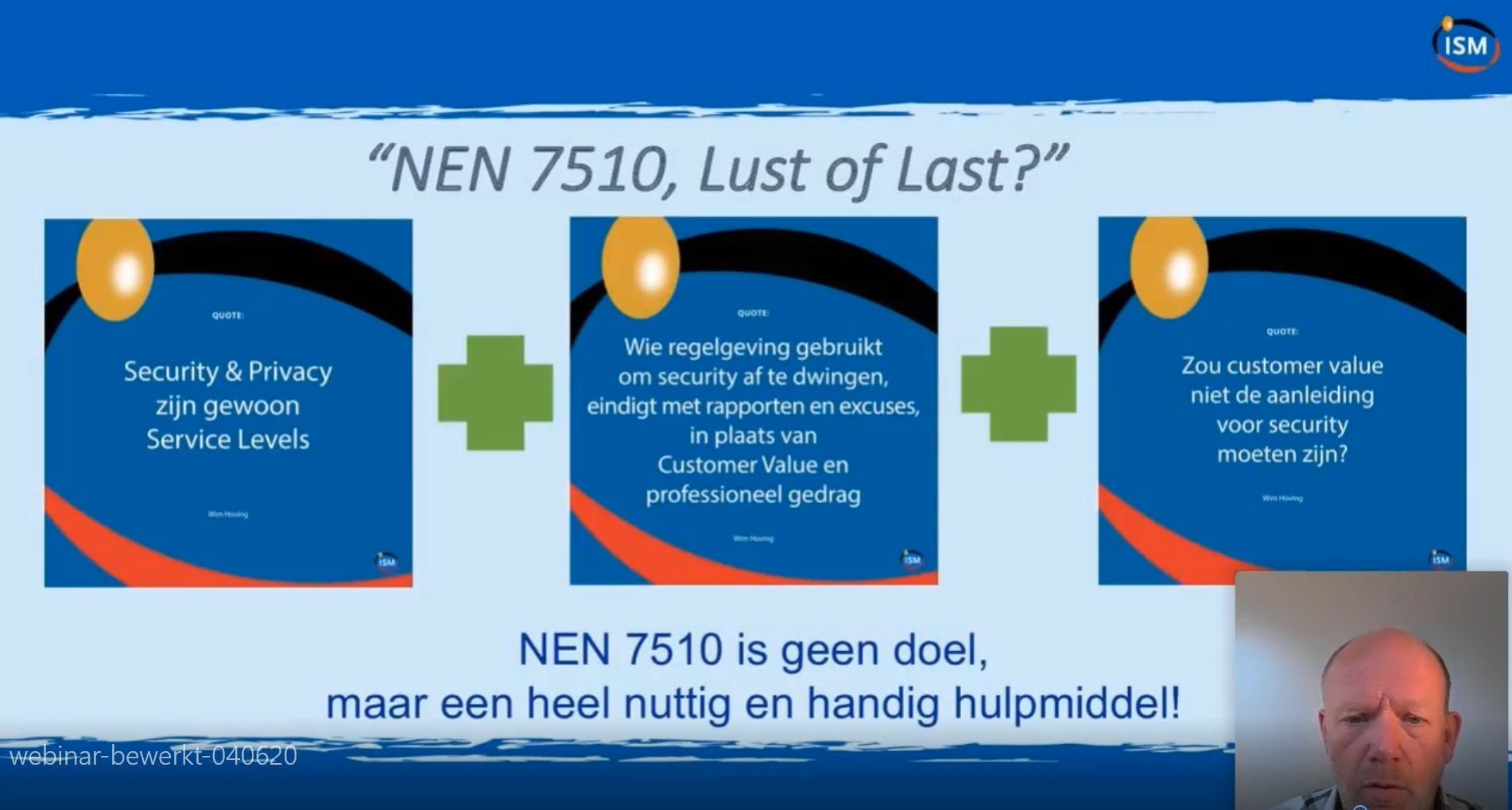 NEN7510 Lust of Last